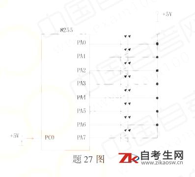 浙江2020年10月自考02358单片机原理及应用真题及答案