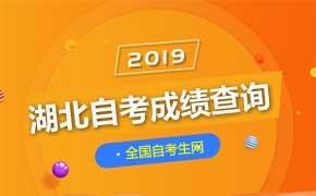 2019年4月湖北省自考成绩查询