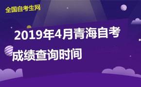 2019年4月青海自考成绩查询时间