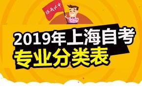 2019年上海市高等教育自学考试专业分类表