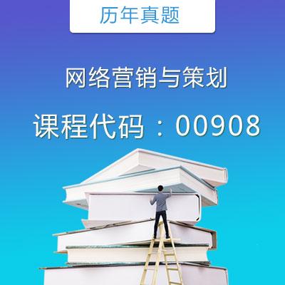 00908网络营销与策划历年真题