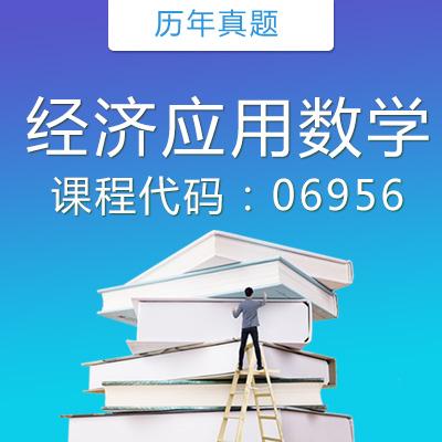 06956经济应用数学历年真题