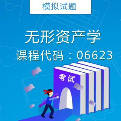 06623无形资产学模拟试题