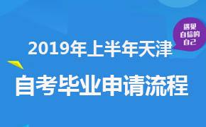 2019年上半年天津自考毕业申请办理流程