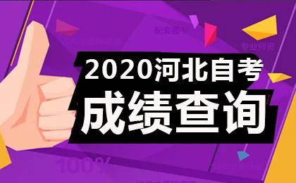2020年4月河北自考成绩查询时间